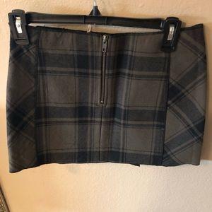 Free People Skirts - Free people plaid mini skirt